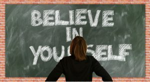 Blackboard believe in yourself